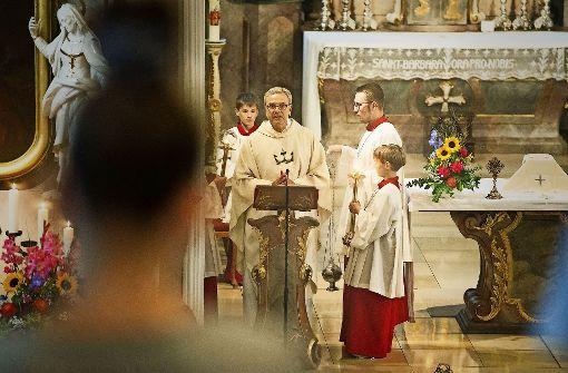 Katholiken feiern Mariä Himmelfahrt