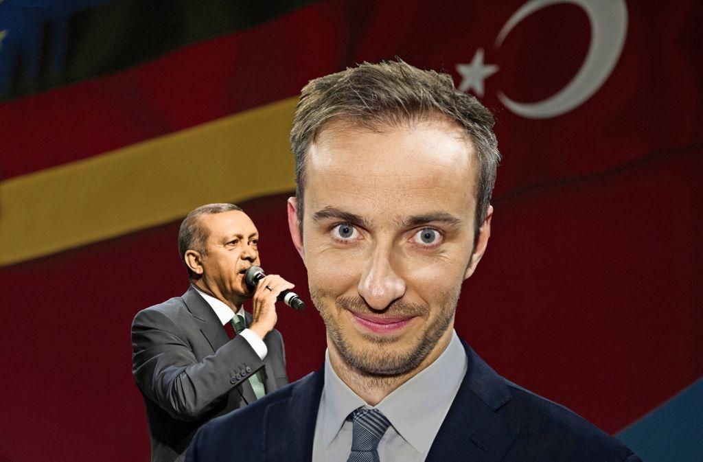 Beschäftigen die Gerichte: Recep Tayyip Erdogan und Jan Böhmermann Foto: Ullstein