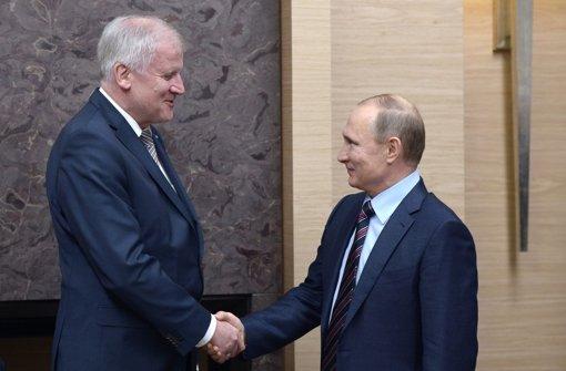 Nach Putin-Besuch hagelt es Kritik