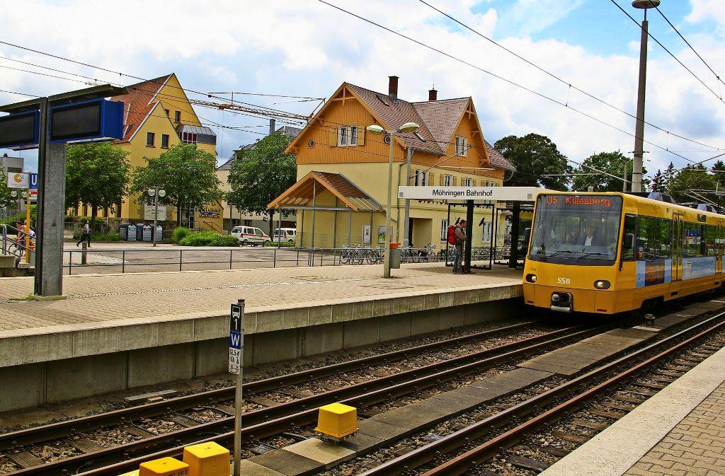 Falls Birkach eine Stadtbahnverbindung in die Stuttgarter Innenstadt bekommt, würde der Möhringer Bahnhof zum Herzstück werden. Foto: Alexandra Kratz