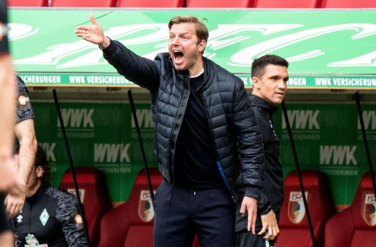 Florian Kohfeldt ist nicht mehr Trainer beim SV Werder Bremen. Foto: dpa/Matthias Balk