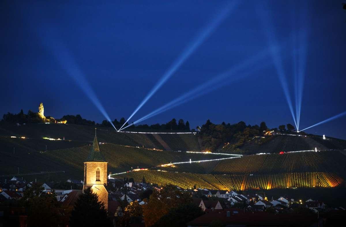 So schön wie auf unserem Foto von 2018 haben die  Weinberge in den vergangenen zwei Jahren nicht mehr geleuchtet. Foto: Archiv/Gottfried Stoppel