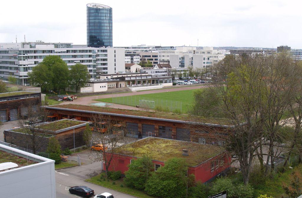 Der Bauhof an der Liebknechtstraße soll weichen. Foto: Archiv Rüdiger Ott