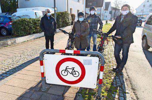 Radfahraktivisten decken Schwachstellen im Verkehrsnetz auf