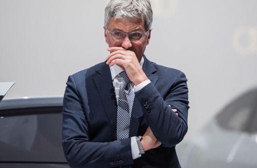 Der tiefe Fall des Audi-Chefs Stadler