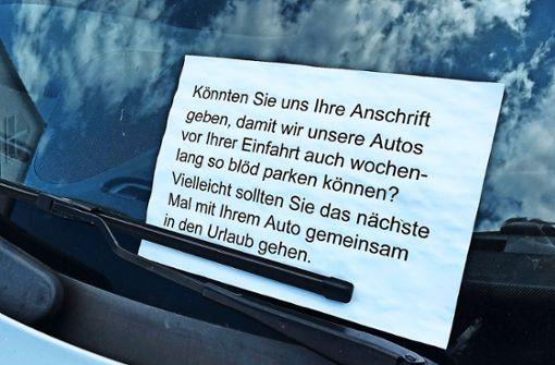 Anwohner fordern Parkausweise