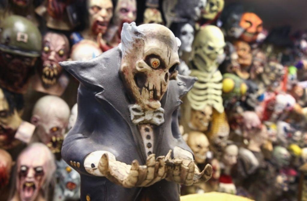 Ja, Halloween ist zum Fürchten. Foto: AFP