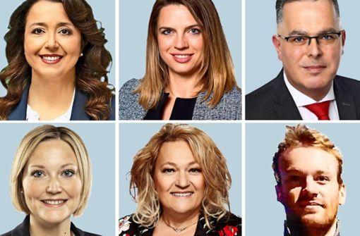 Jede Menge neue weibliche Gesichter