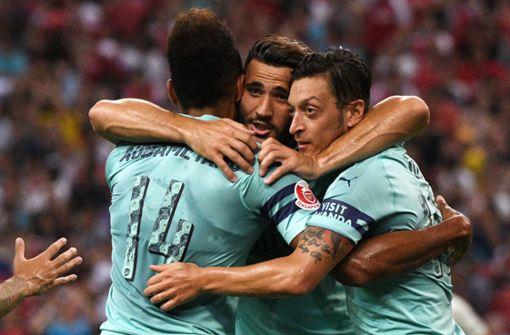 Wie Mesut Özil und Sead Kolasinac den Schock verarbeiten