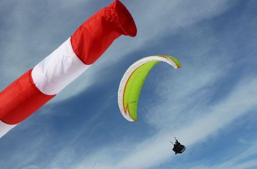Gleitschirmflieger in Baden-Baden verunglückt
