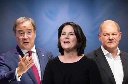 Scharfer Schlagabtausch im zweiten Kanzlerkandidaten-Triell
