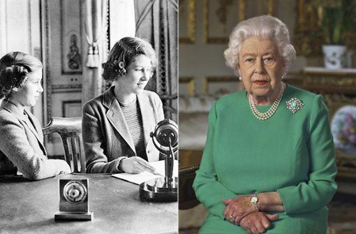 Zwischen diesen Ansprachen liegen fast 80 Jahre