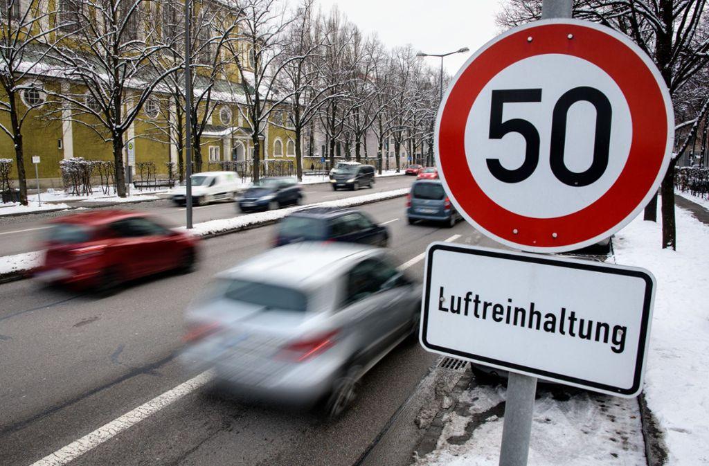 Das Bundesverwaltungsgericht in Leipzig hat am Dienstag die Fahrverbotsurteile der ersten Instanz bestätigt. Foto: dpa