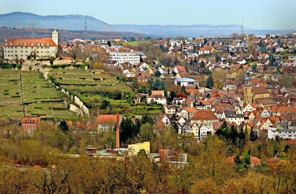 In der Stadt mit dem Wahrzeichen  Schloss Kaltenstein werden  bis 2021 gut  42 Millionen Euro investiert. Eine Gartenschau könnte die Entwicklung weiter voranbringen. Foto: factum/Granville