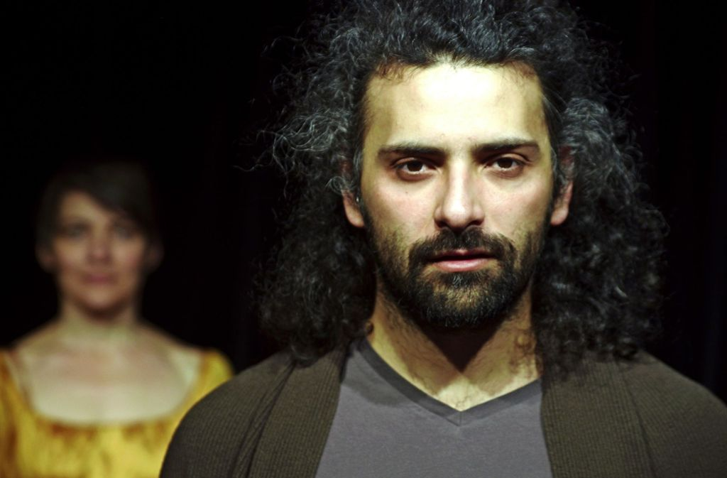 Ramin Khoshbin hat seine Erlebnisse künstlerisch verarbeitet. Foto: Guido Hofenblitzer