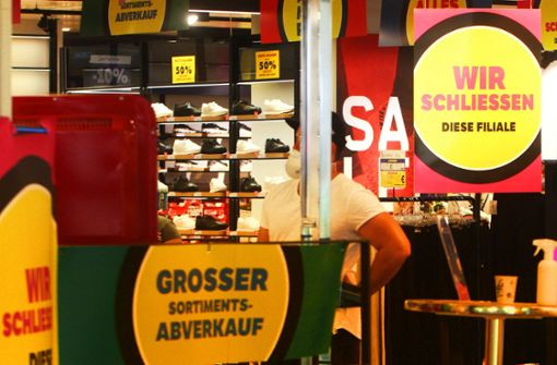 Einzelhandel in Innenstädten leidet derzeit massiv