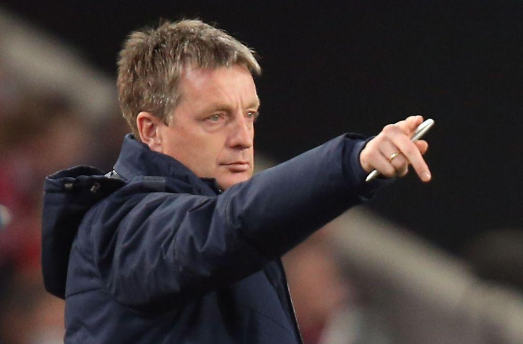 Rainer Widmayer: Co-Trainer bei Hertha BSC – und bald zurück in Stuttgart? Foto: Baumann