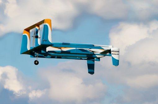 Amazon testet in Großbritannien Auslieferung per Drohne