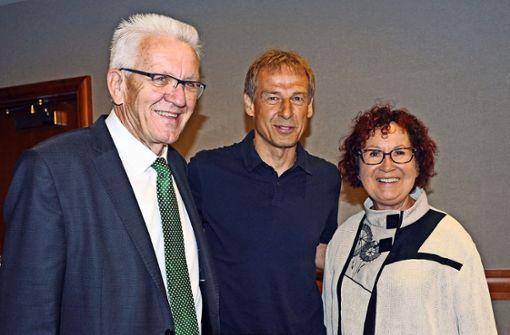 Klinsmann trifft Kretschmann