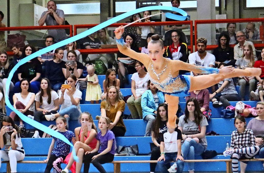 Extraklasse: Margarita Kolosov ist reif für die Weltmeisterschaften der Juniorinnen. Foto: Eva Herschmann