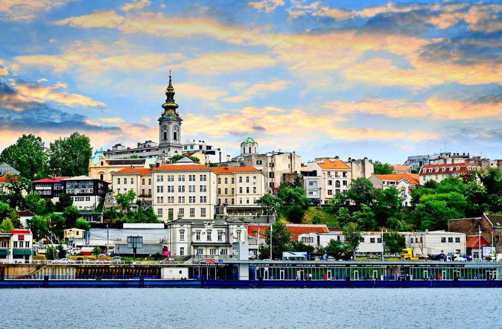 Die schöne Stadt Belgrad am Zusammenfluss von Donau und Save hat ein anrüchiges Problem. Foto: