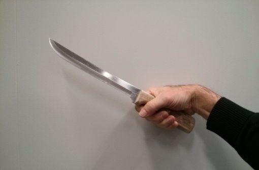 Überfall mit Fleischermesser
