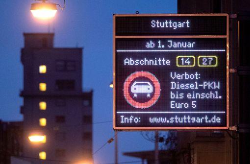 Dicke Luft im Stuttgarter Rathaus wegen Fahrverboten