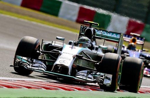 Rosberg holt sich Pole vor Hamilton