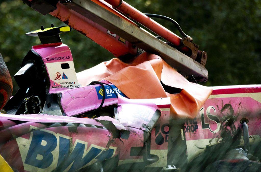 Nach einem Unfall beim Formel-2-Rennen ist  Anthoine Hubert gestorben. Foto: AFP