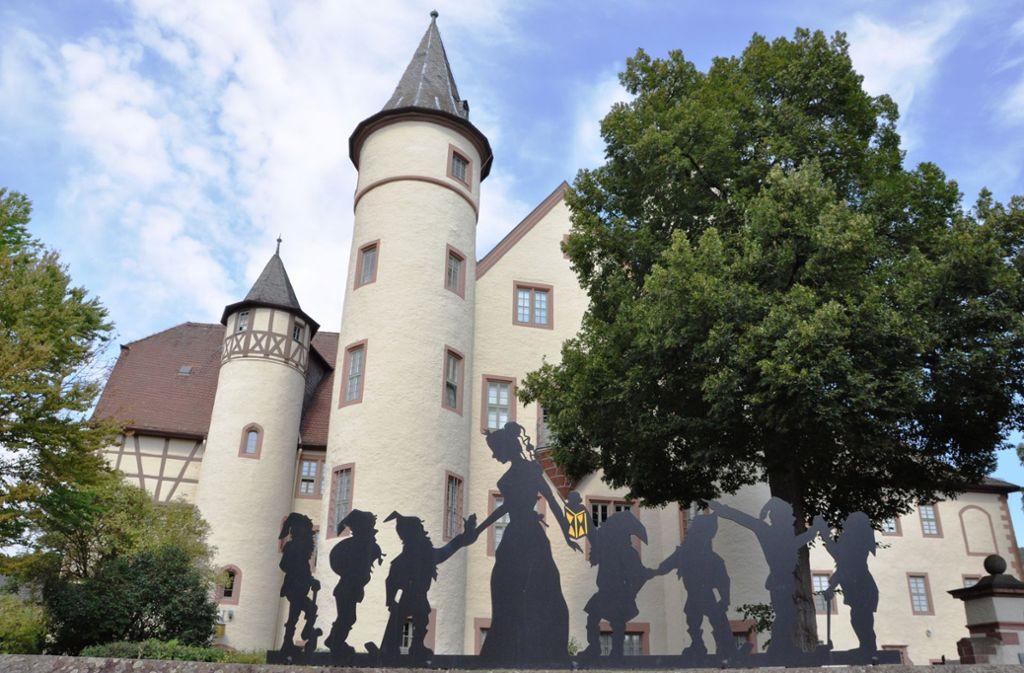 In diesem Schloss in Lohr am Main ist Maria Sophia von Erthal aufgewachsen. Foto: Barbara Grimm/Spessartmuseum/dpa