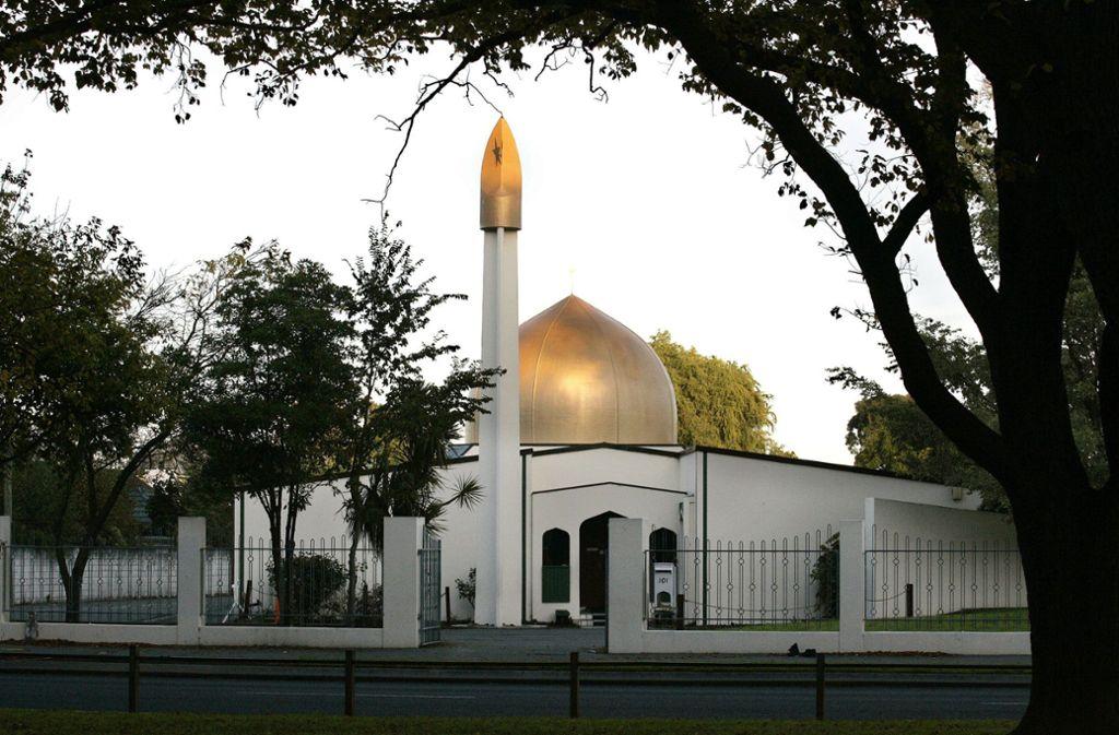 Das Ziel der Angreifer war unter anderem die Masjid Al Noor Moschee. Foto: SNPA