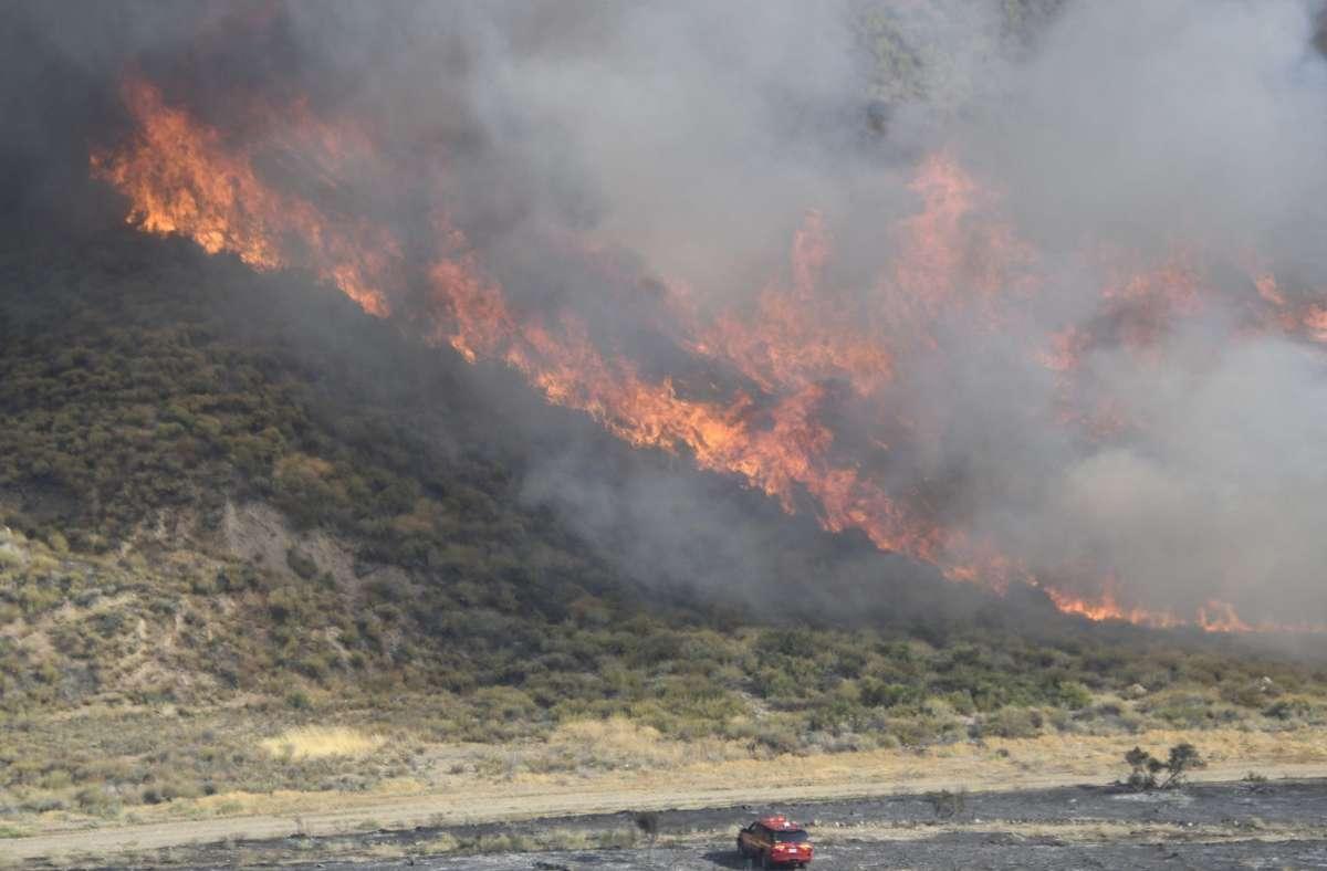 Das Feuer breitet sich immer weiter aus. Foto: dpa/Gene Blevins