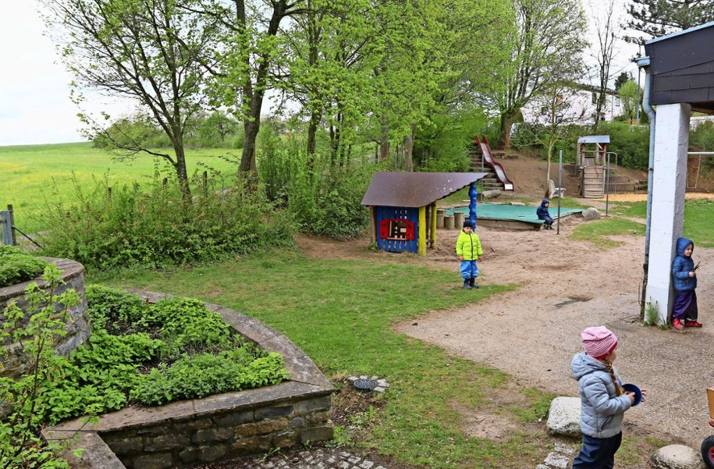 Bis Mitte August sollen die Planungen so weit fortgeschritten sein, dass der Bauantrag für den neuen Kindergarten Lailberg II gestellt werden kann. Foto: Andreas Gorr