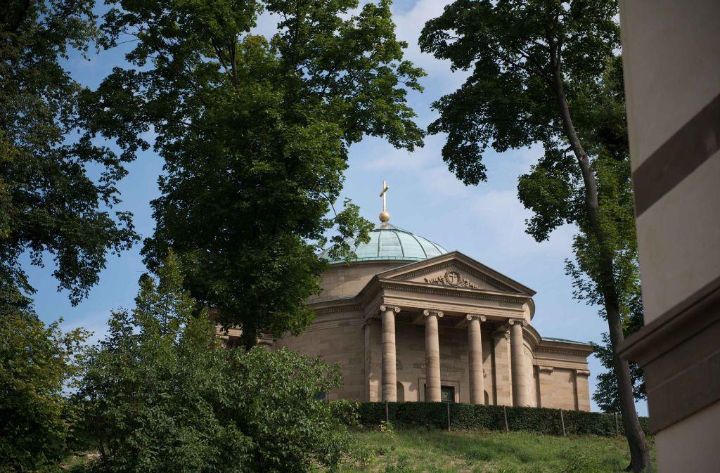 Die Grabkapelle ist ein Anlass für viele Menschen, nach Rotenberg zu kommen, aber längst nicht für alle. Foto: Lichtgut/Max Kovalenko