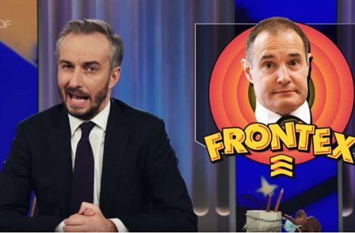 Böhmermann geht Frontex an