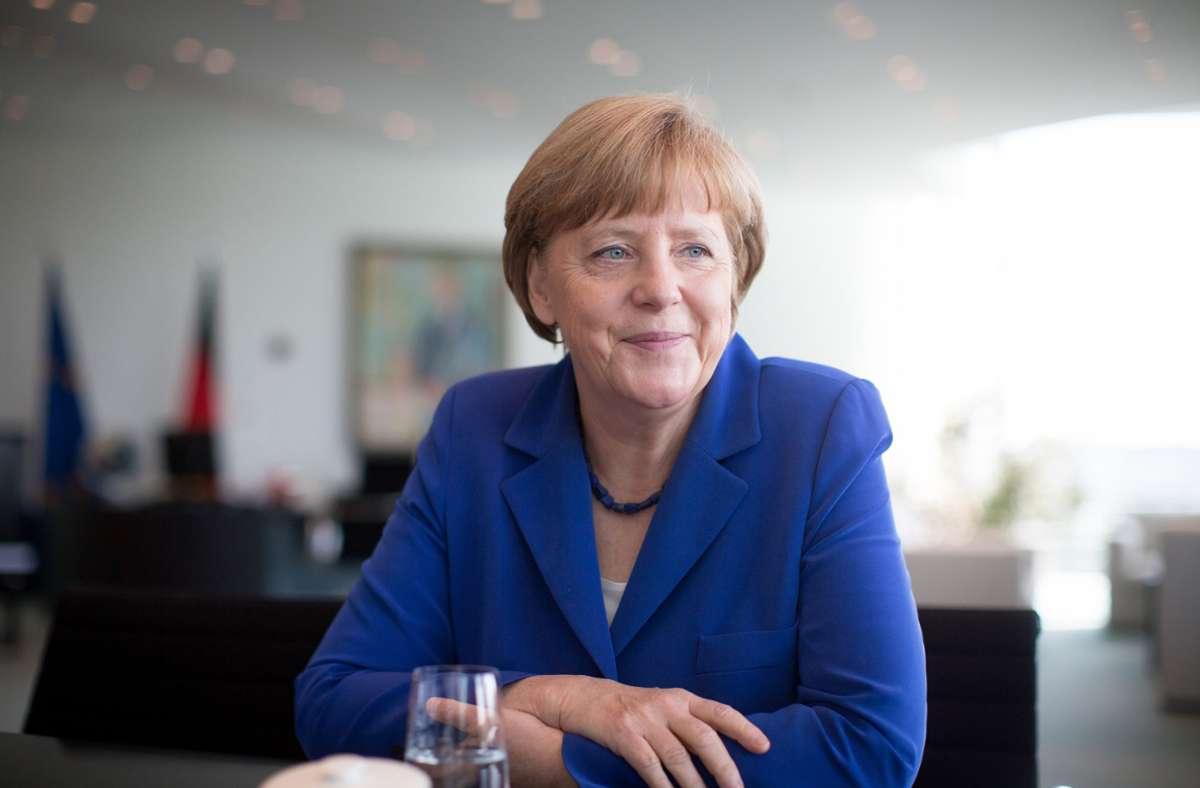 Bundeskanzlerin Angela Merkel macht sich Sorgen um die europäische Einheit. Foto: dpa/Kay Nietfeld