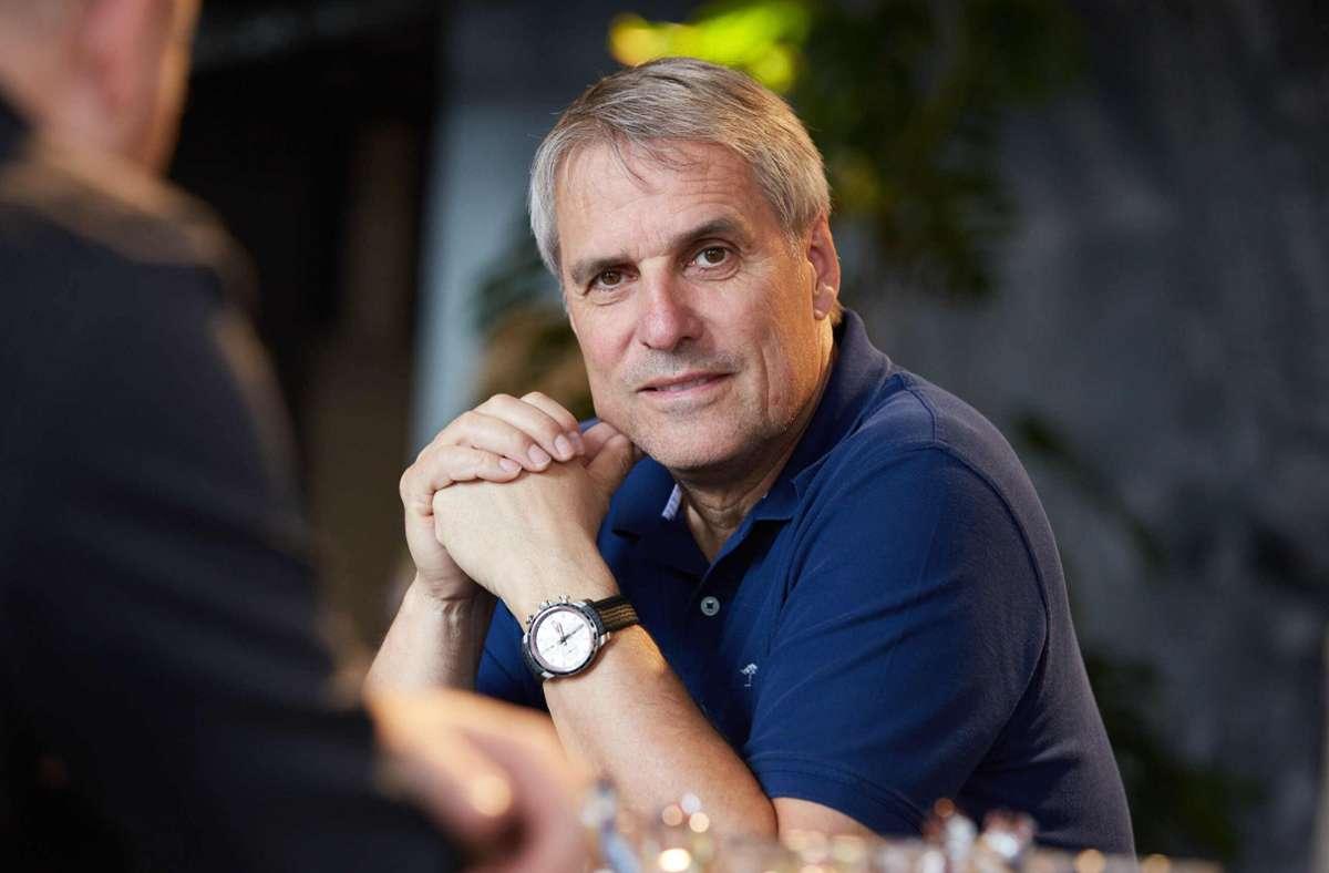 Wilfried Porth führt den Metallarbeitgeberverband noch bis Frühjahr 2021. Foto: www.mikeabmaier.com/Sebastian Gollnow