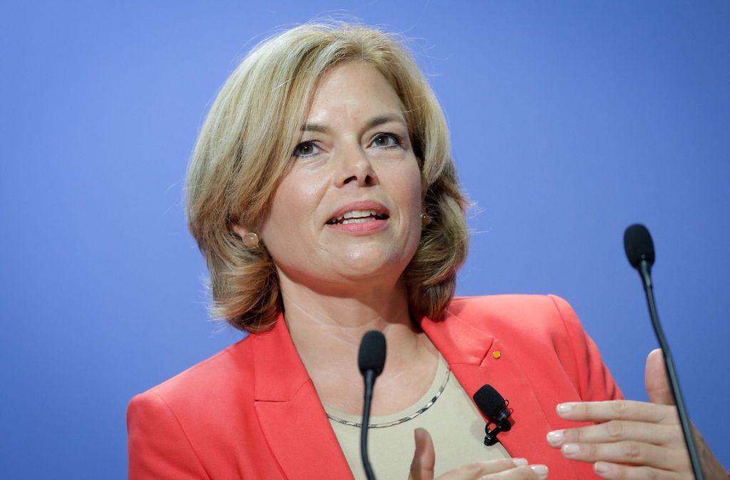 Julia Klöckner wurde das Opfer von Hackern. Foto: dpa