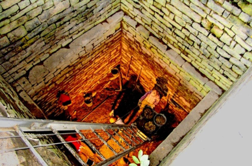 Nicht nur wegen der Ausgrabungen ist die Hiltenburg eine der am besten erforschten Ruinen in Baden-Württemberg. Foto: Kreisarchiv