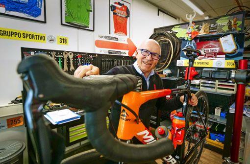 Schwäbische Sparsamkeit brachte ihn zum Radfahren