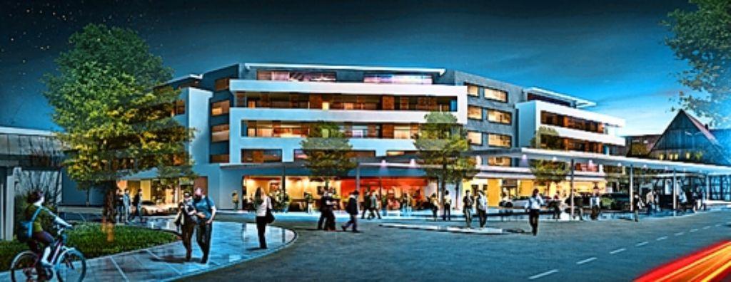 Das Uigo soll auch nachts Passanten anlocken Foto: von Bock Architekten