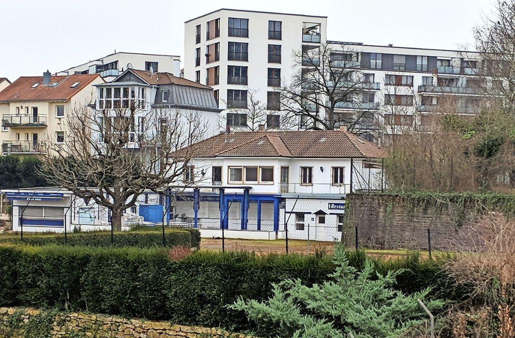 Die Zukunft der Blankenhorn-Villa ist offen. Foto: Jürgen Brand