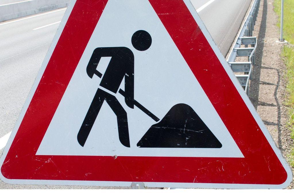 Dieses Schild ist in den kommenden Wochen in Vaihingen und Möhringen oft zu sehen. Foto: dpa