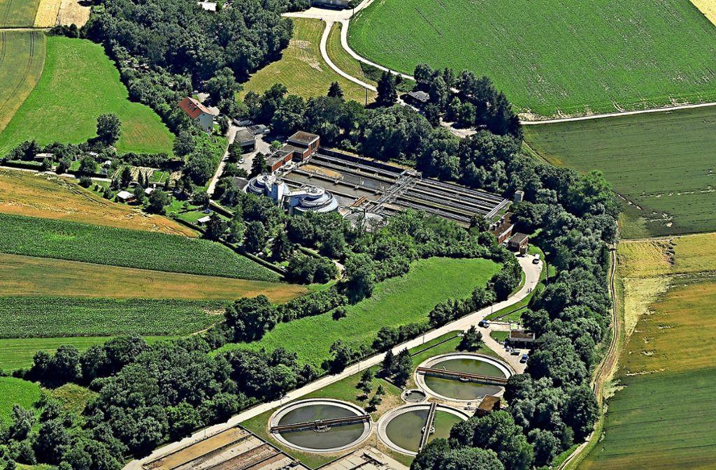 Die Anlage in Ditzingen wird gemeinsam von Stuttgart, Gerlingen und Ditzingen betrieben. Foto: Kuhnle