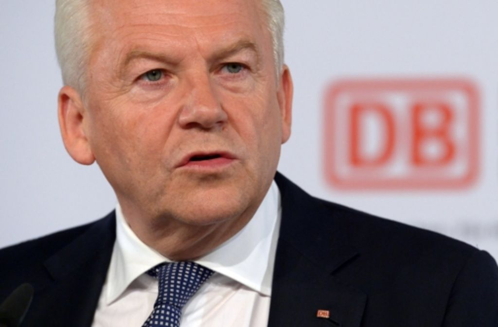 Wichtiger Termin: Bahnchef Rüdiger Grube Foto: dpa