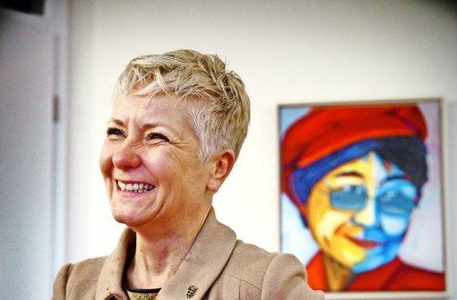 Heute wählt die Grünen-Abgeordnete etwas andere  Outfits.. Foto: Gottfried Stoppel