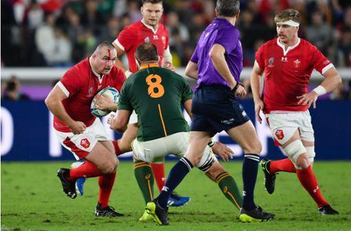 Südafrika schlägt Wales und steht im Finale