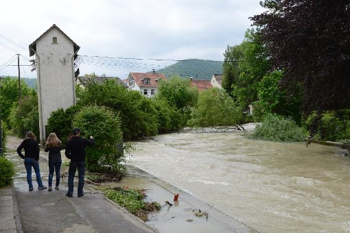Hochwasser statt Freibadwetter