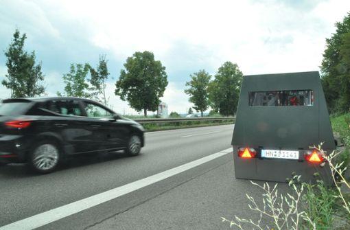 Zwei hochmoderne Blitzer für Ludwigsburg