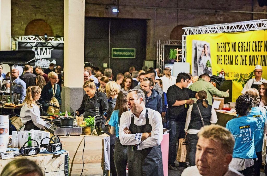 Bei den Chefdays in Berlin geben sich Deutschlands Spitzenköche die Klinke in die Hand. Foto: Rolling Pin